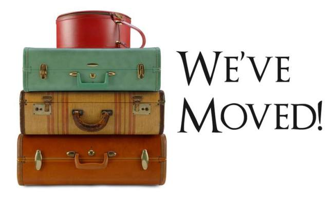 weve moved